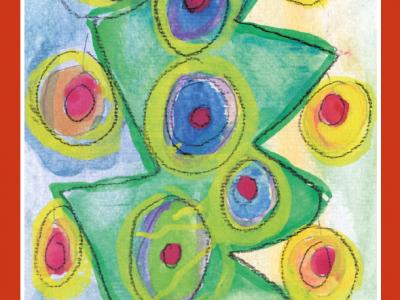 Abete colorato [stampa su cartoncino] - 1,50€ - 4000pz.