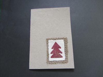 Abete rosso [collage su carta riciclata] - 2,50€ - 100pz.