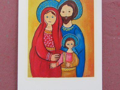 Sacra Famiglia [stampa su cartoncino] - 1,50€ - 1000pz.