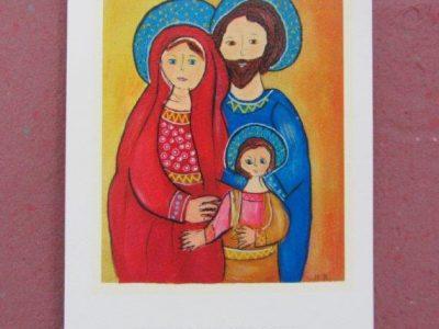Sacra Famiglia [stampa su cartoncino] - 1,40€