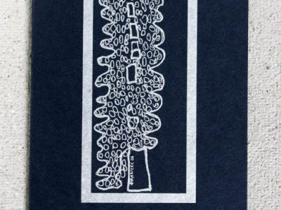Albero argentato [stampa su cartoncino] - 1,20€