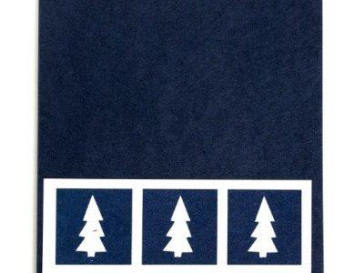 Collage di Natale [collage con cartoncino blu] - 1,50€ - 100pz.