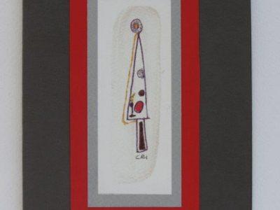 Albero di Natale geometrico [collage] - 1,50€