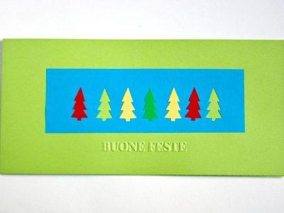 Decori natalizi [collage su cartoncino] - 2,00€